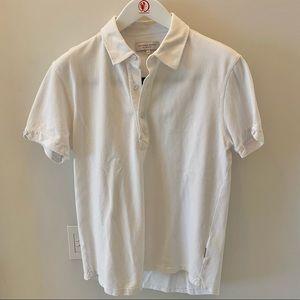 Orlebar Brown Sebastian White Polo Shirt